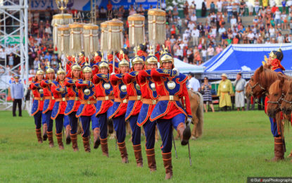 Treasures of Mongolia Naadam at the end of the tour
